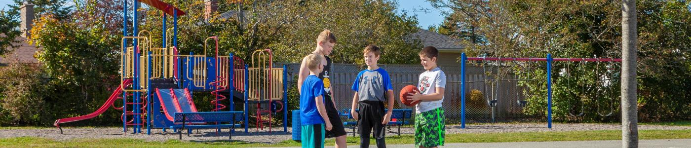 Basketball at Larche Park