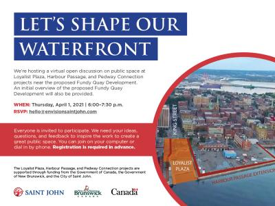 Let's shape our waterfront